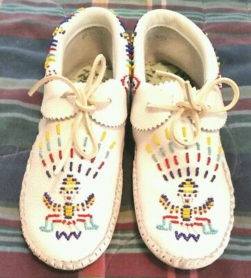 Taos Beaded Moccasins Women's 9