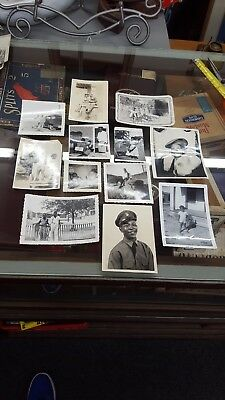 Lot of 12 Vintage African-American Pictures