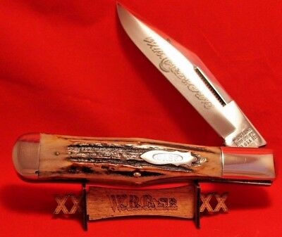 Case XX Classic 51050 Genuine Stag Large Coke Bottle Knife w/bomb shield 1/750