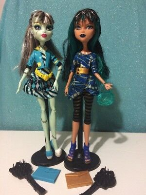 Monster High - Picture Day - Frankie Stein & Cleo De Nile Dolls