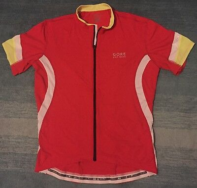 Gore Bike Wear Jersey Red XL New!