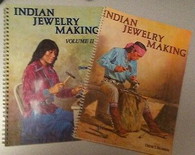 Indian Jewelry Making Volume I and Volume II by Oscar T. Branson