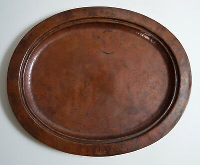 """STICKLEY BROTHERS copper tray 19"""" x 15 7/8"""""""