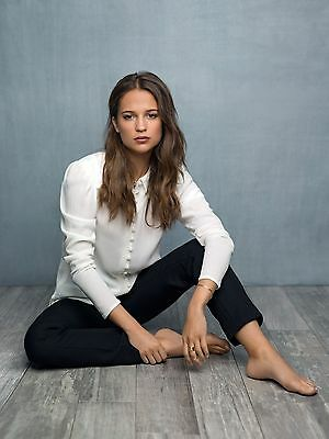 Alicia Vikander Hot Celebrity Worn Wardrobe Bra With Coa