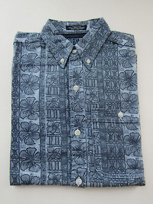 New Boys 1990s Vintage Retro L/S Shirt 100% Cotton - New Old Stock NOS - Size: M