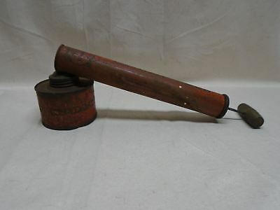 Vintage Spra-Well Metal Insect Sprayer Pump Standard Container