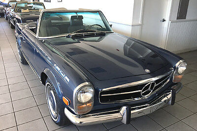1969 Mercedes-Benz SL-Class 280SL 1969 Mercedes 280SL fully restored with an automatic transmission