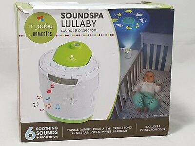 OpenBox myBaby Soundspa Lullaby Sound Machine and Projector