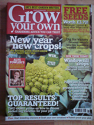 Grow Your Own January  2012