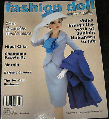 Fashion Doll Quarterly FDQ Spring 2017 New, Volks, Shantomo Facets, Nigel Chia,