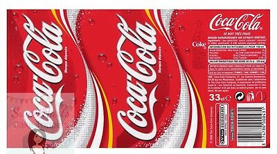Coca Cola Coke Can Cake Decoration Printed Edible Icing Cake Topper