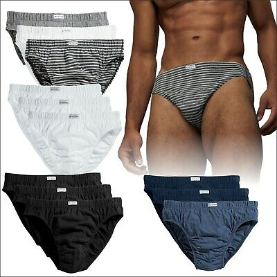ffb92e8900b7 Fruit of the Loom Men's Classic Slips 3 PACK Brief Style Underwear S M L XL  2XL