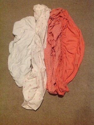 4x Baby Cot Toddler Bed Fitted Sheets  Bundle