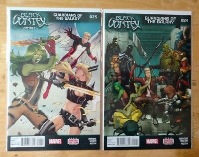 Guardians Of The Galaxy(2013) #'s 24 & 25 Marvel 2 Issue Lot 1st Printings