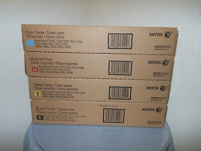 Xerox WorkCentre 7525 7530 7545 7556 7830 7835 7845 7855 7970 Color Toner Set
