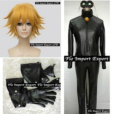 Inspired Miraculous Chat Noir Costume Carnevale Ladybug Cosplay Costume CHAN05