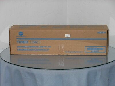 Genuine Konica TN217 Toner New in Box! A202031