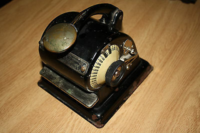Antique Check Protectograph Model H... GW Todd & Co.