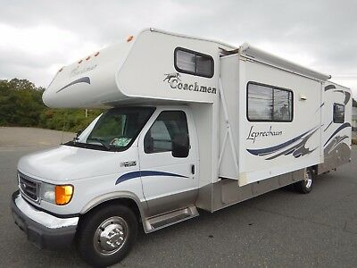 Coachmen Leprechaun 31ft Class C Motorhome Slide Out Ford V10 Sleeps 7 Clean 05