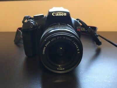 Canon EOS Rebel T3 / 12.2MP Digital SLR Camera - Black with 18-55mm lens