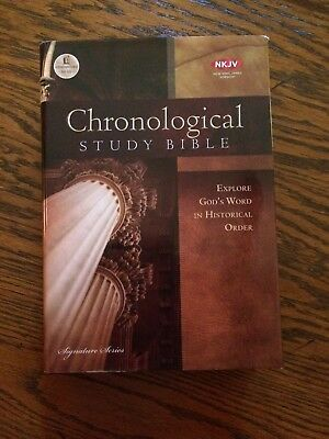 The Chronological Study Bible : Explore God's Word in Historical Order by...