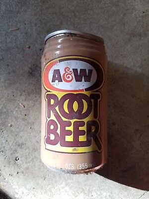 A&W Rootbeer can