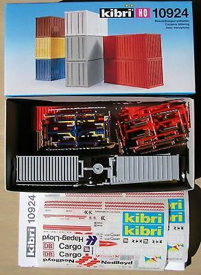 KIBRI HO 10924   20' Shipping Containers x 8  BRAND NEW