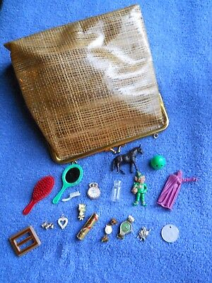 Vintage Estate 50's-60's Novelty Child's Toys, Monsters, Figures, Charms, Purse