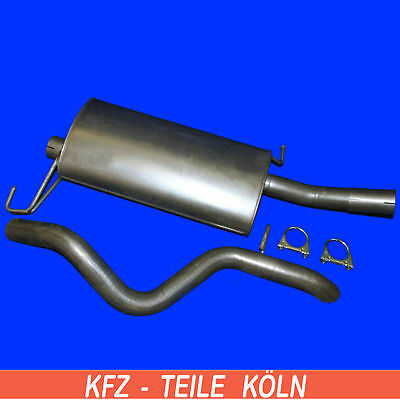 MERCEDES M Class ML 270 CDI MIDDLE SILENCER + End Pipe Exhaust System