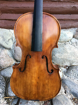 Old Antique Viola, 15 1/2 ""