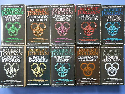 ## The Wheel Of Time #2 - #11 - Robert Jordan - Matching Covers **free Postage