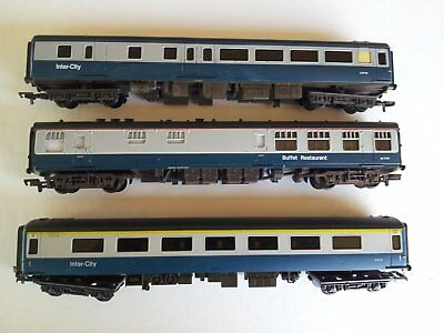 3 x Mainline Intercity Carriages