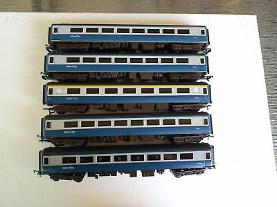 5 x Airfix/GMR Intercity Carriages