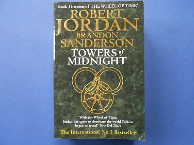 ## THE WHEEL OF TIME - #13 TOWERS of MIDNIGHT - ROBERT JORDAN **LIKE NEW