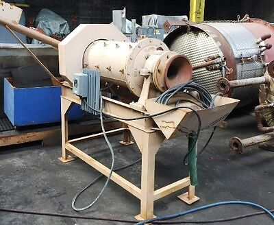 """16"""" Hazen Research Rod Mill 3 HP. On Stand  Serial # 168225 Item #8604"""