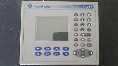 USED - Allen Bradley Panelview Plus 400 Compact 2711P-K4M20A Ser B- Tested