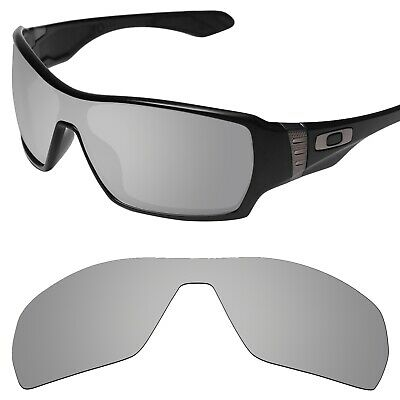 Tintart Polarized Replacement Lenses for-Oakley Offshoot Silver Metallic (STD)