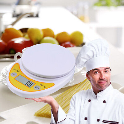5kg/1g LCD Digital Electronic Kitchen Cooking Scale Balance for Food Weighing A