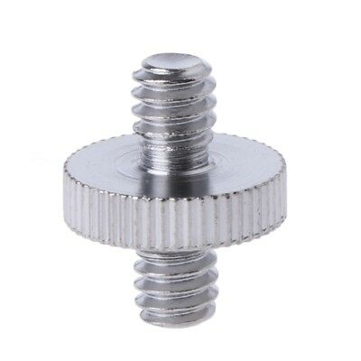 "Double-headed 1/ 4"" Male Screw Thread Convert Adapter For Camera Tripod Ballhead"