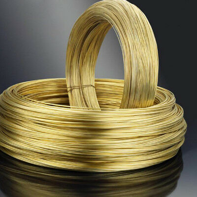 0.5mm 0.6mm 0.8mm Dia Soft Raw Brass Wire For Model Craft Jewelry Findings DIY