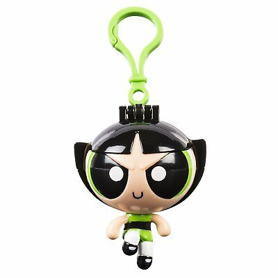 Power Puff Girls Flick N Reveal Keychain, Buttercup Doll