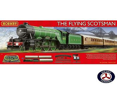 Hornby OO The Flying Scotsman Electric Train Set (Three Coaches)
