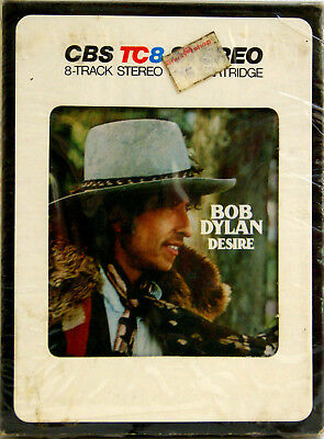 BOB DYLAN Desire  8 TRACK TAPE  CARTRIDGE