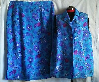 PLUS. Ladies 2 piece Skirt and Top size 22