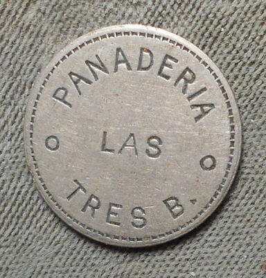 Mexico Panaderia Las Tres B Vale 1 Bollo De Pan Unlisted Denomination