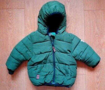 Baby Boys Next Winter Coat Size 6-9 Months