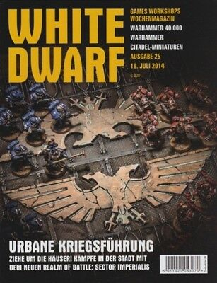 White Dwarf 25 July 2014 (German) by the 19 July 2014 Games Workshop