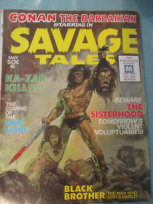 Savage Tales Magazine #1. 1971. First Appearance Man Thing. Vg/fine-