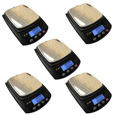5PCS SF-460 5KG/11LB Digital Weighing LCD Electronic Kitchen Scale Food Cooking
