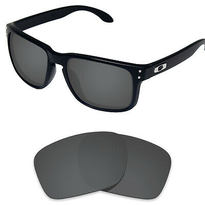 Tintart Polarized Replacement Lenses for-Oakley Holbrook Carbon Black (STD)